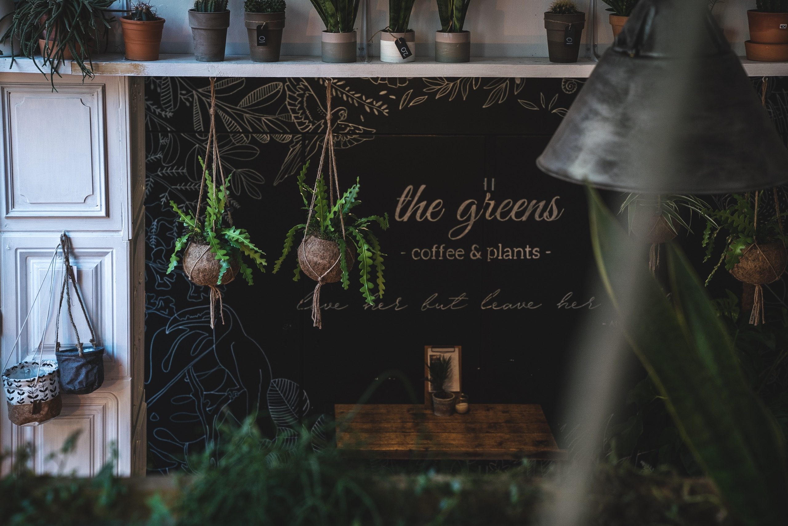 The Greens Berlin Coffee And Plants In Der Alten Münze In Berlin